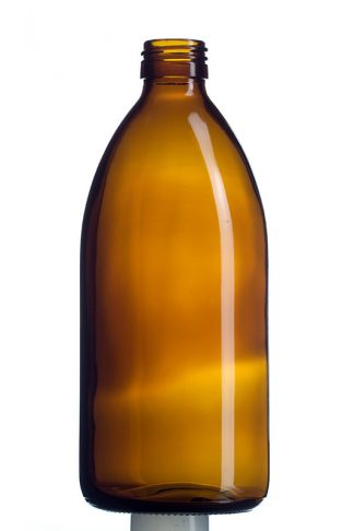 Agwa medizinische Braunglasflasche 500 ml