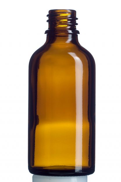 Agwa medizinische Braunglasflasche - Tropfflasche 50 ml - GF050