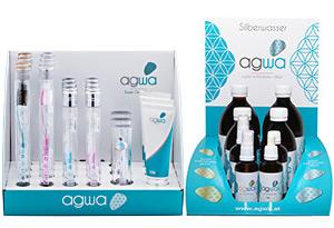 agwa Produkte - Zahnbürsten und Silberwasser
